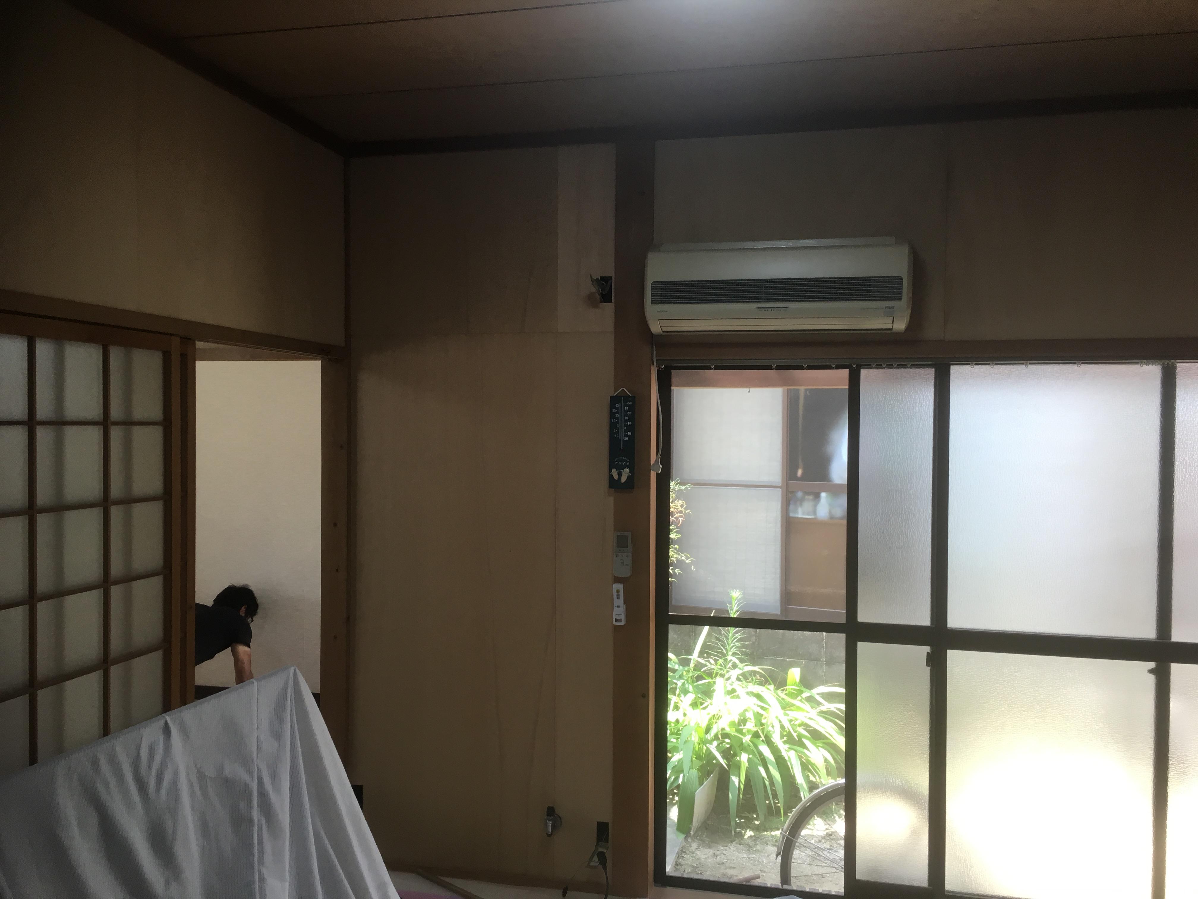 尾道市向島町にて築年数により内装を綺麗にしたいとご要望頂きました!