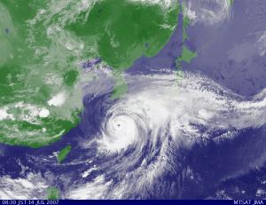 台風シーズン突入