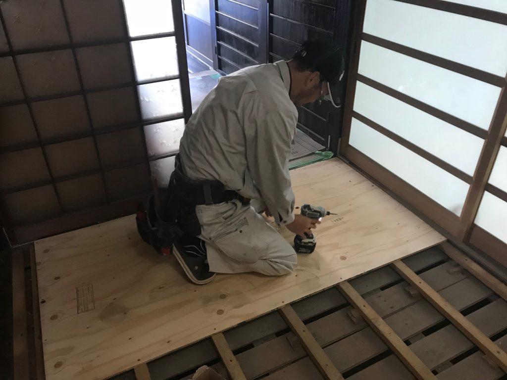 福山市新市町O様邸 キッチン改修工事