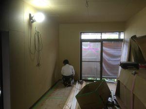福山市 全面改修工事 次回クロス工事です!