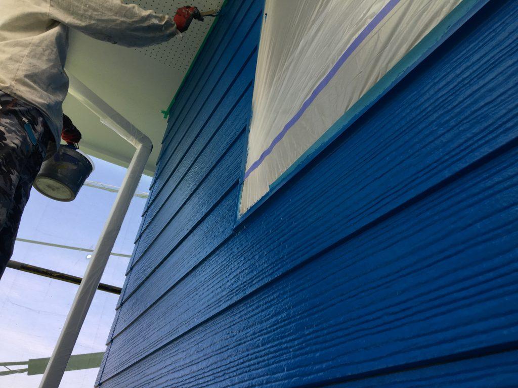 福山市引野町W様邸外壁塗装工事