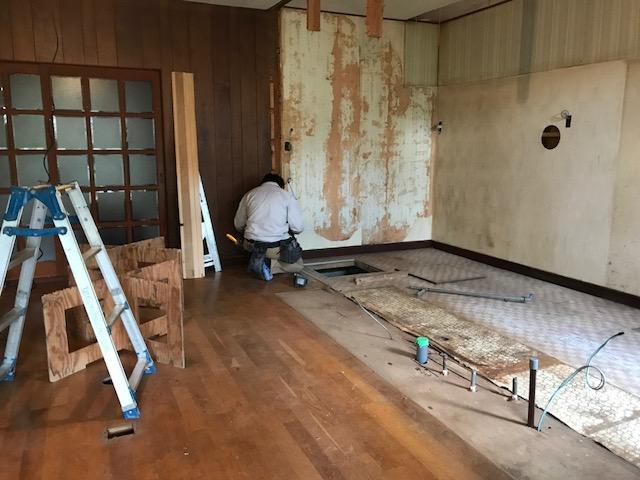 三原市深町 T様邸キッチン改修工事