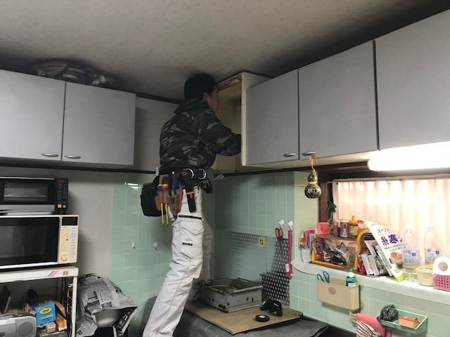 府中市高木町 T様邸レンジフード取り替え工事