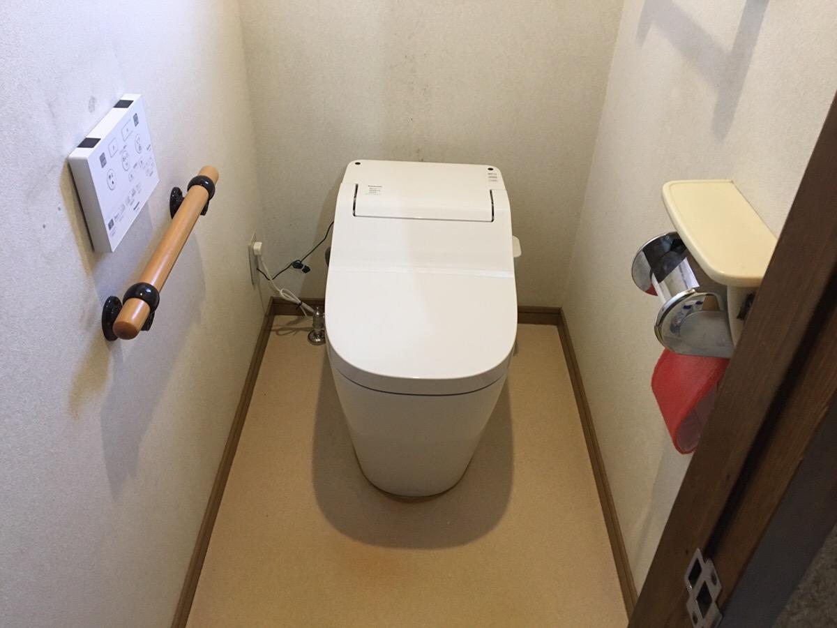 タンクありのトイレからタンクレストイレへ!