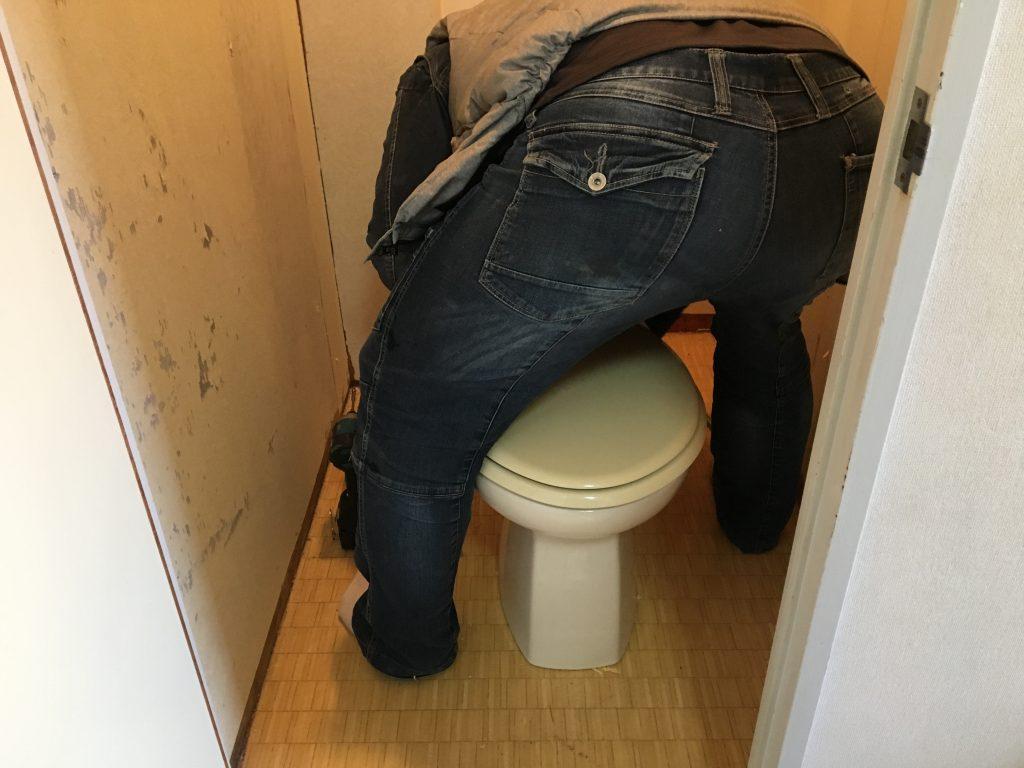 福山市東深津町トイレ取替工事