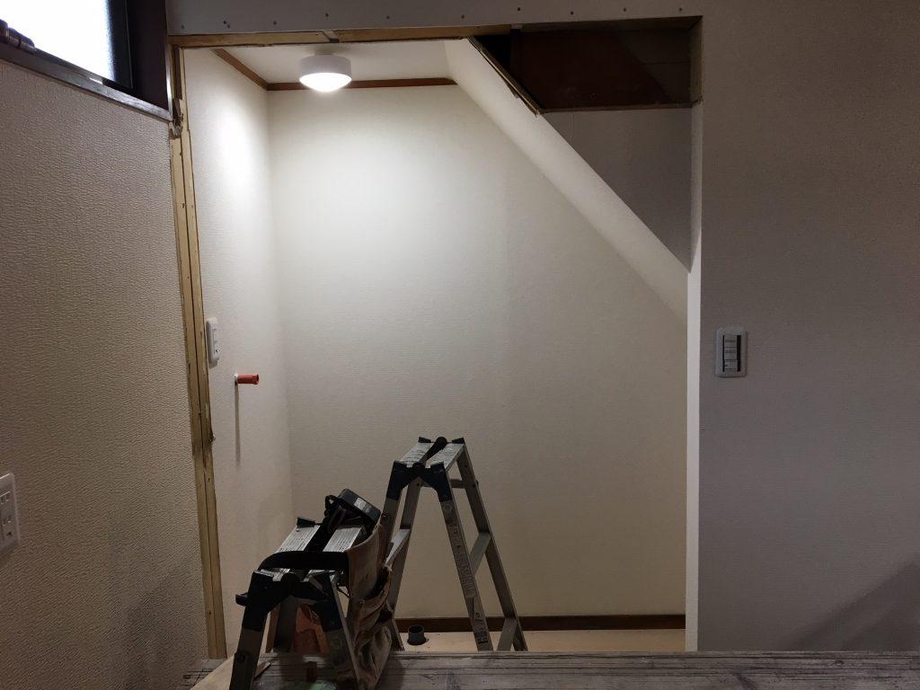 笠岡市城見台H様邸内装リフォーム工事