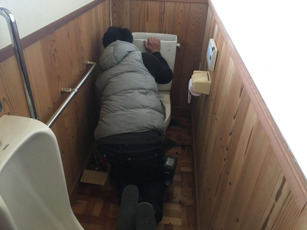 福山市駅家町H様邸トイレ・洋室改修工事