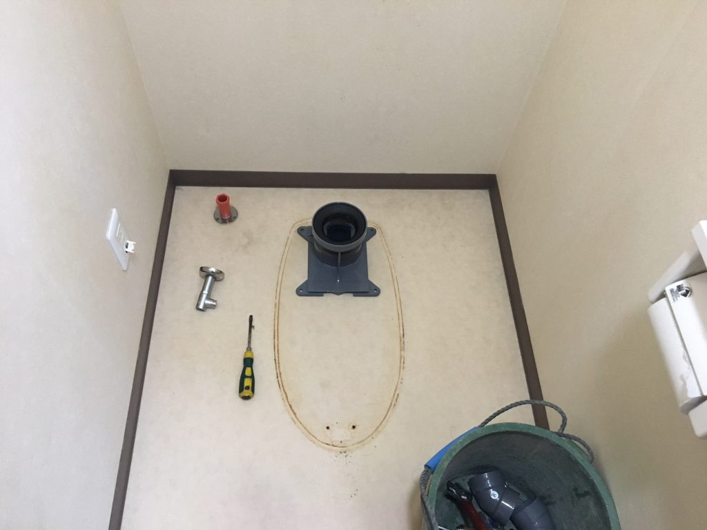 福山市多治米町Y様邸トイレ取り替え工事