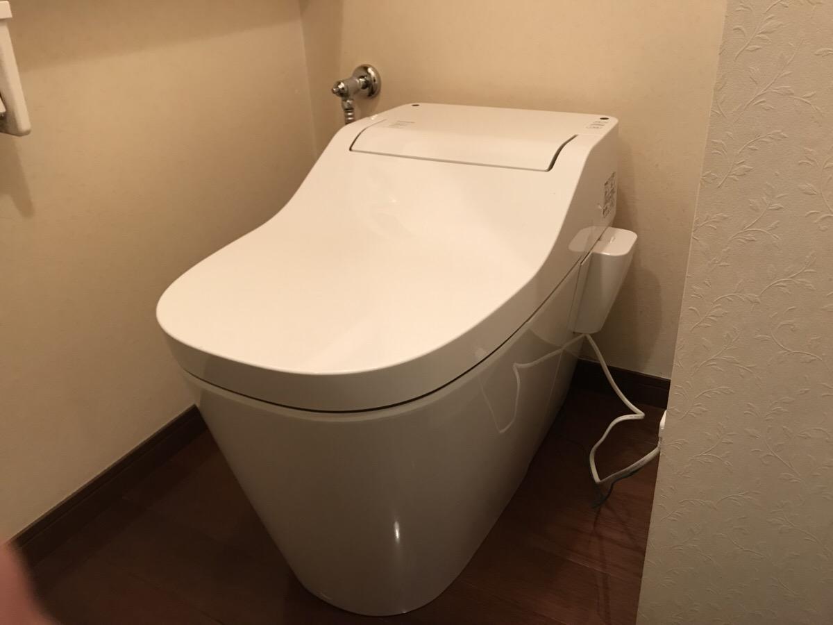 トイレを新しく機能的に!