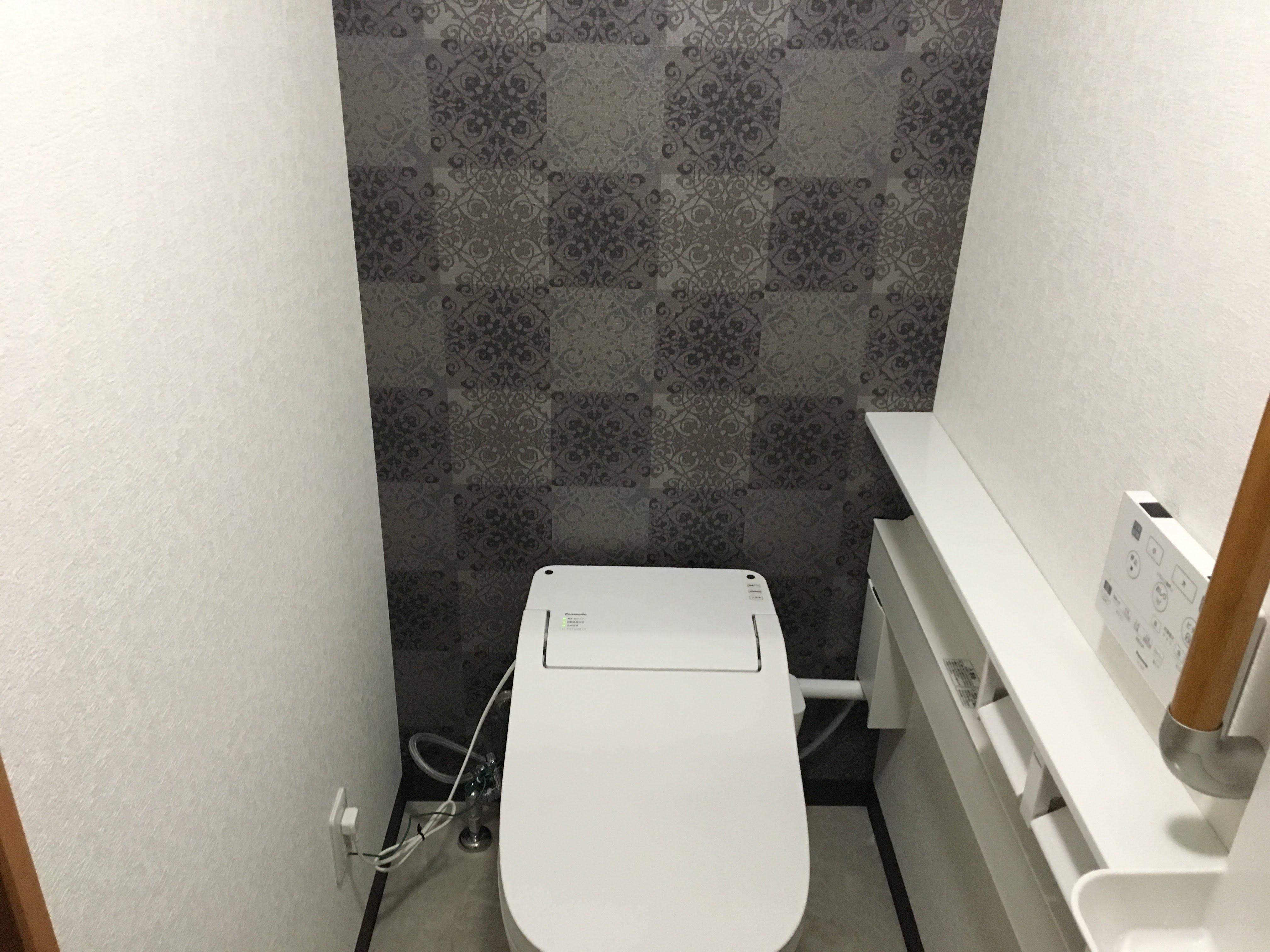 トイレを快適な空間に!!