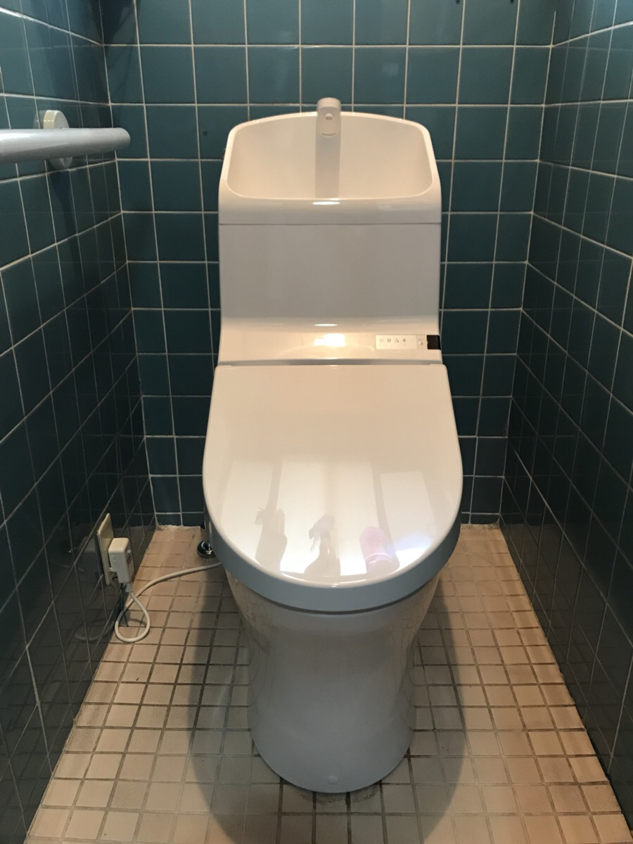 曙町 トイレ交換工事