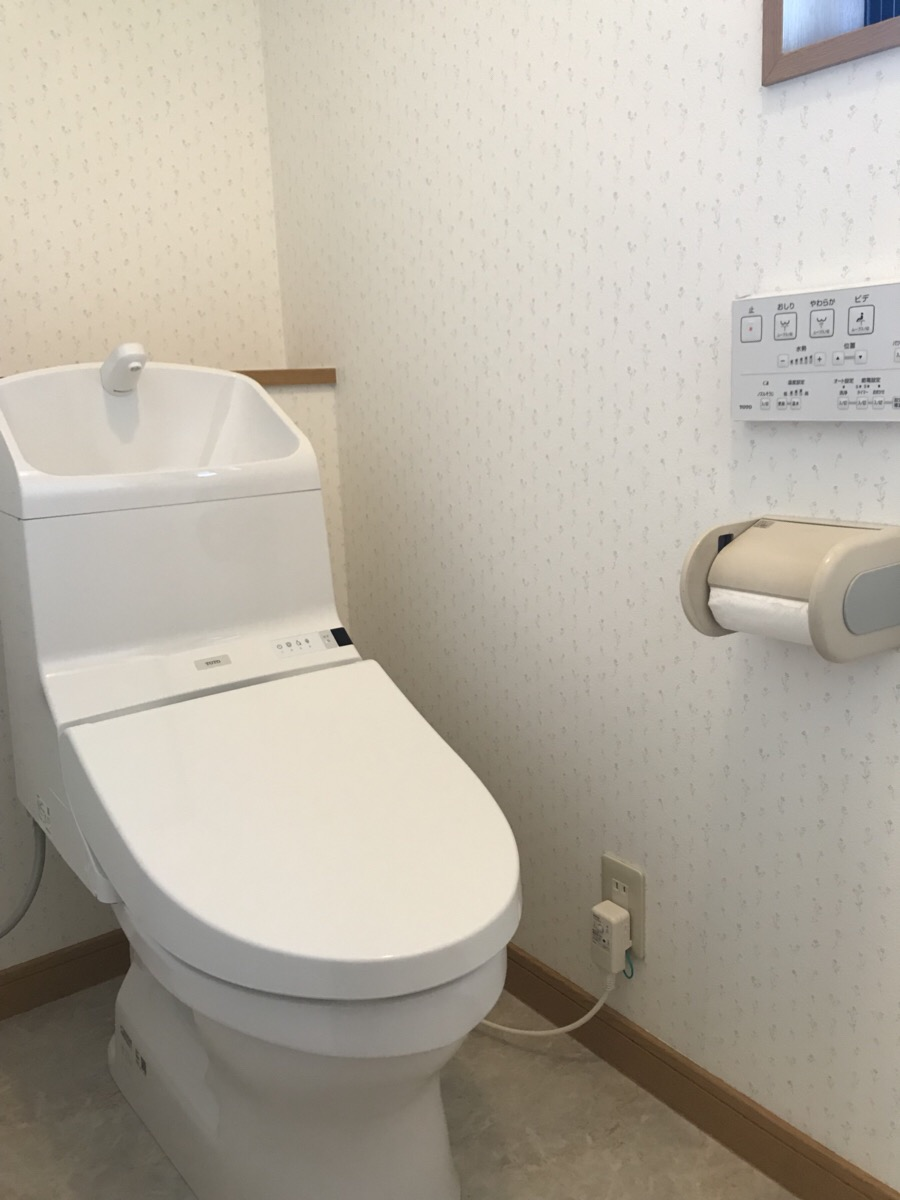 川口町 トイレ丸ごとリフォーム!!