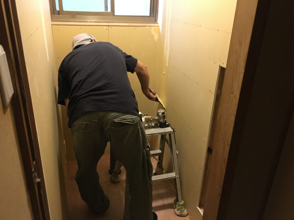 福山市東深津町T様邸和式トイレ改修工事