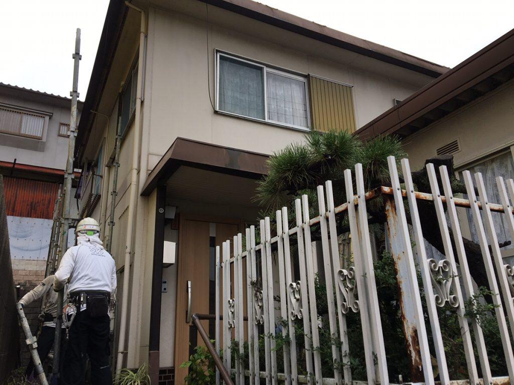 福山市城興ケ丘屋根修繕・外壁塗装工事