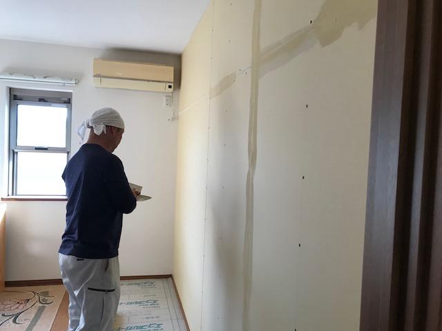 福山市伊勢丘A様邸 間仕切り壁造作工事