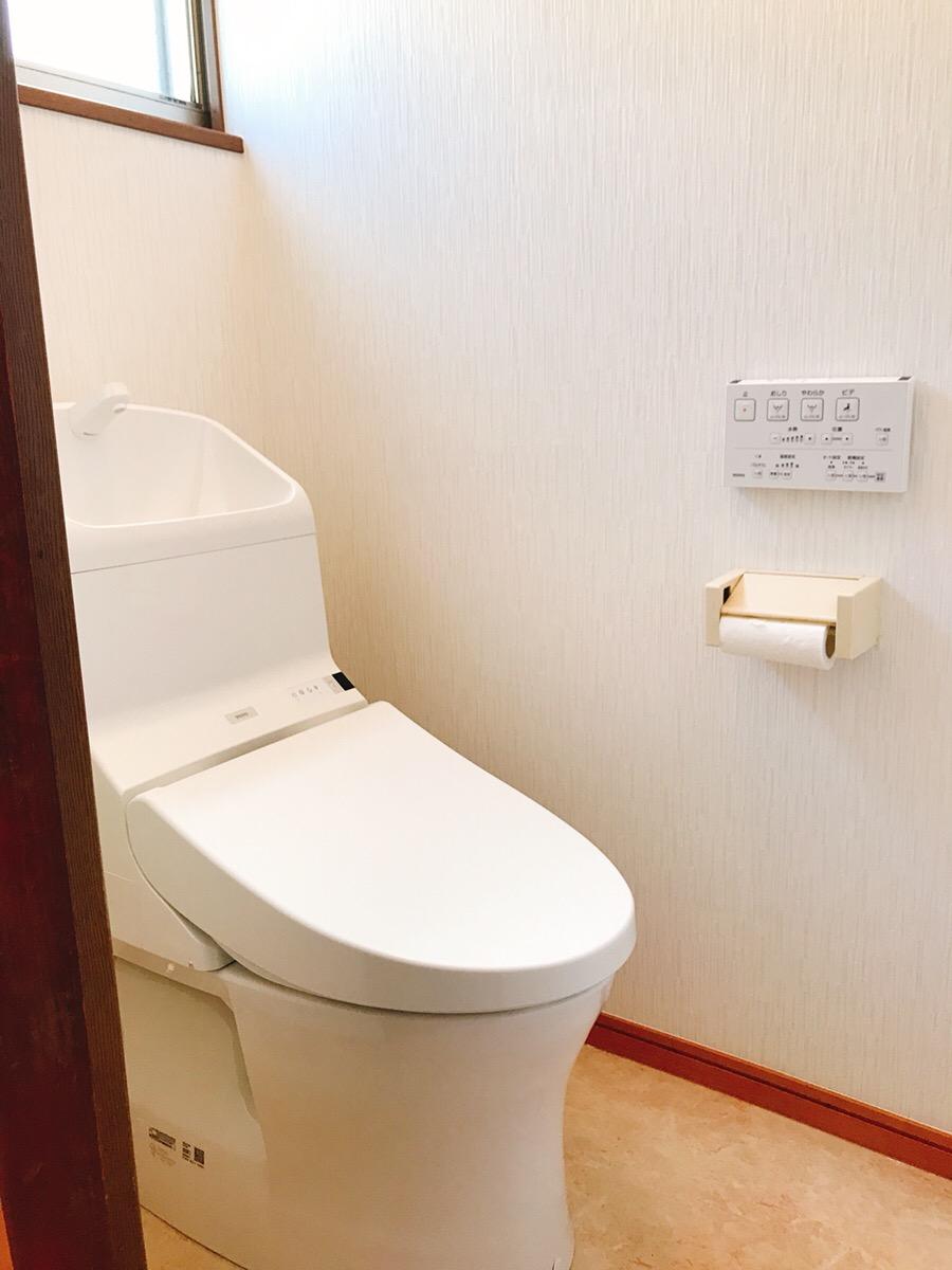 北本庄でトイレ改修工事