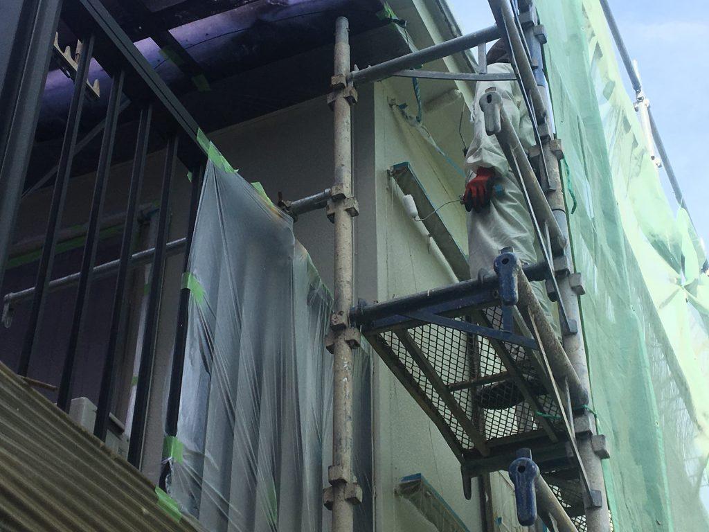福山市城興ヶ丘屋根・外壁塗装工事