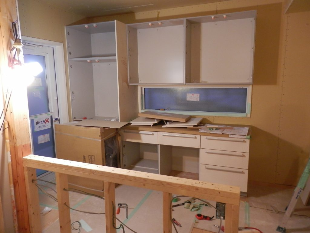 キッチンリフォームの工事期間はどれくらい?