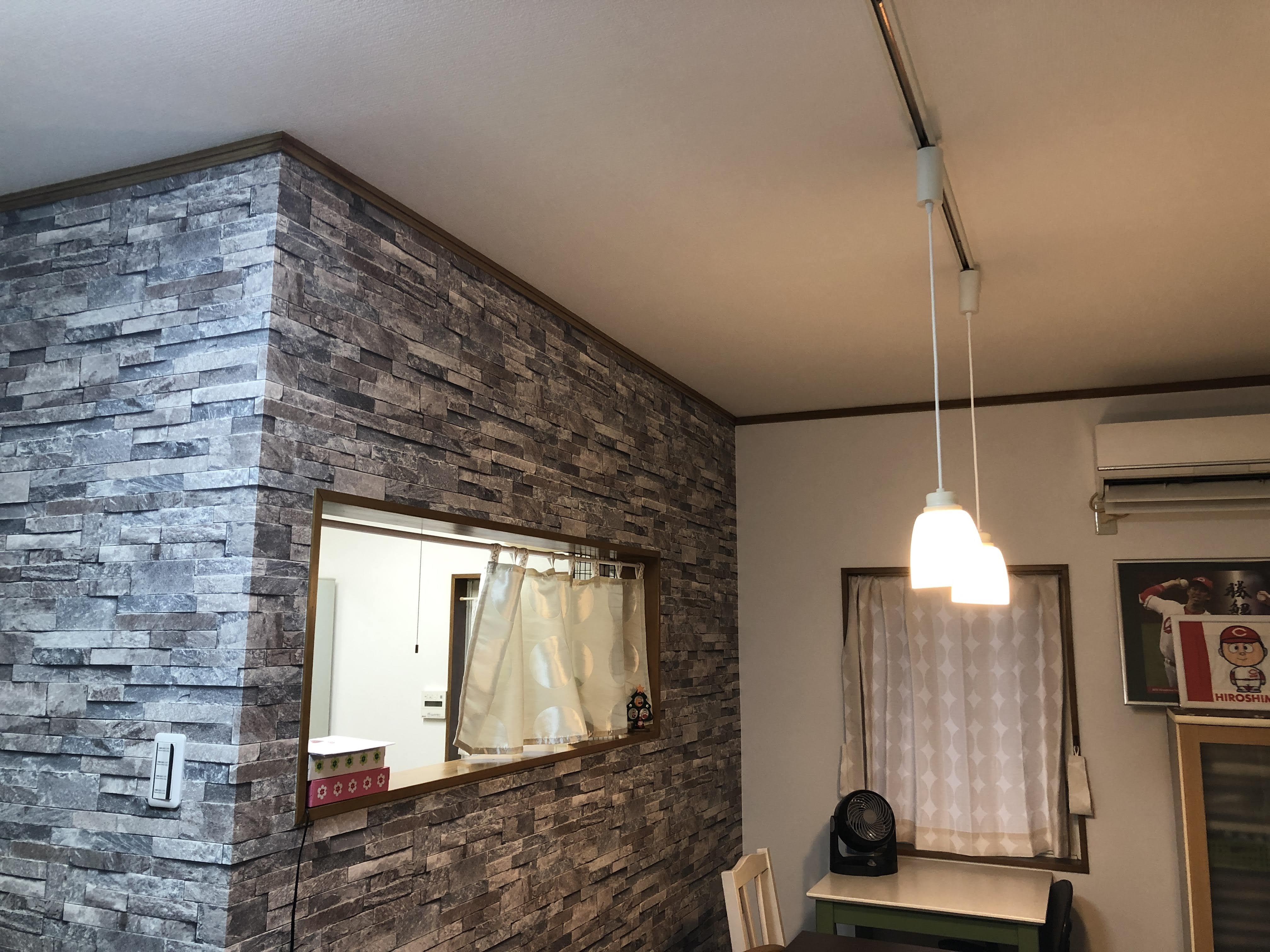 福山市松永町で内装工事・玄関取替工事完了致しました!!