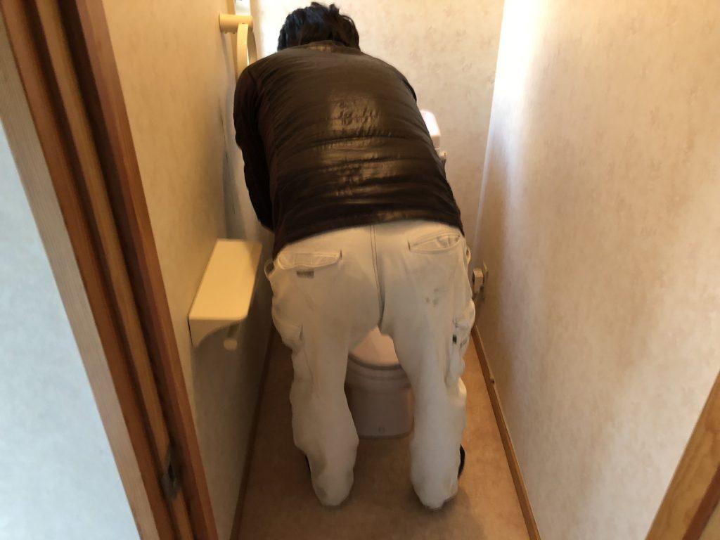 福山市加茂町トイレ改修工事完了しました。