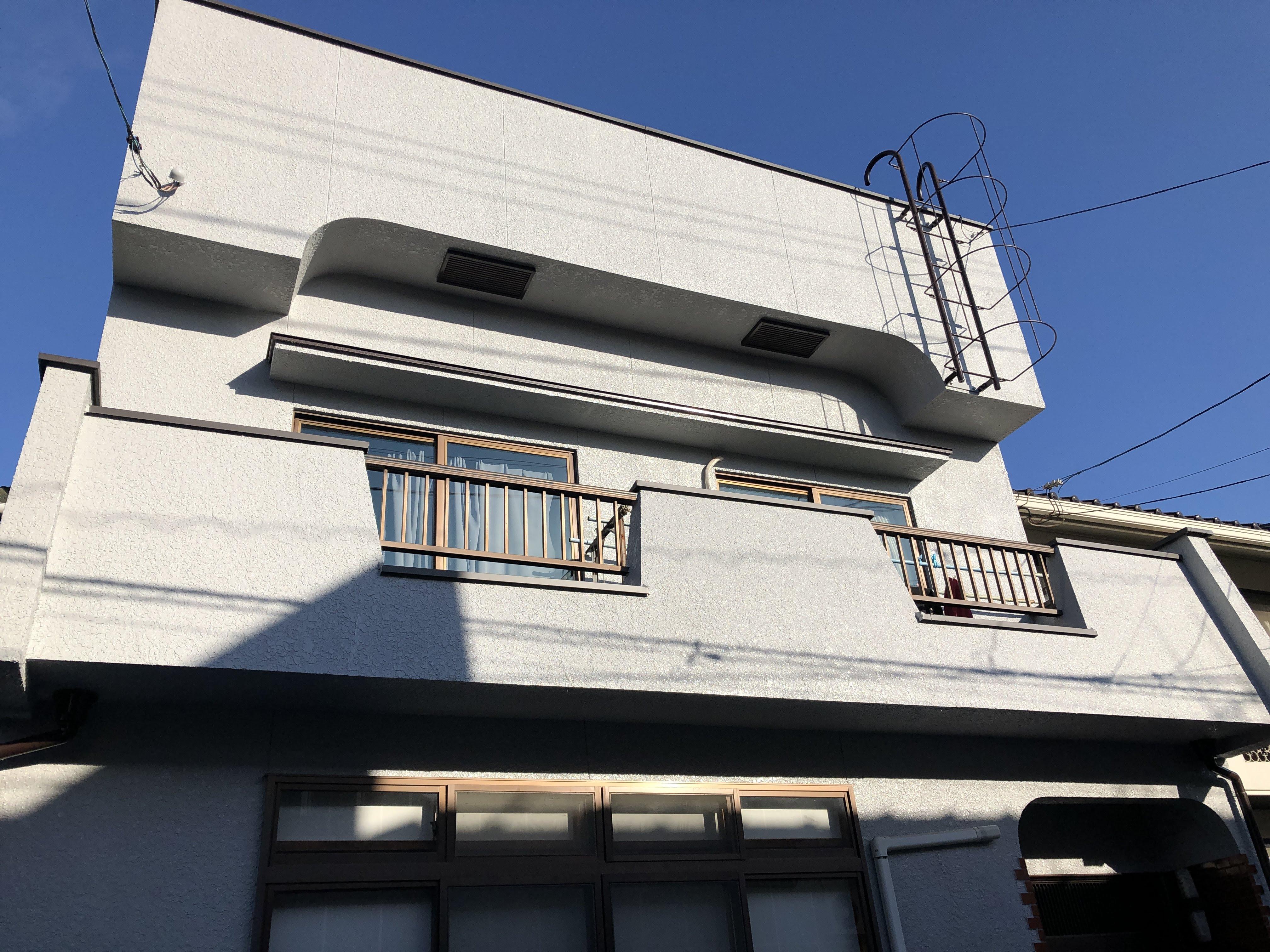 福山市西深津町外壁塗装・聚楽塗り替え工事竣工致しました!!