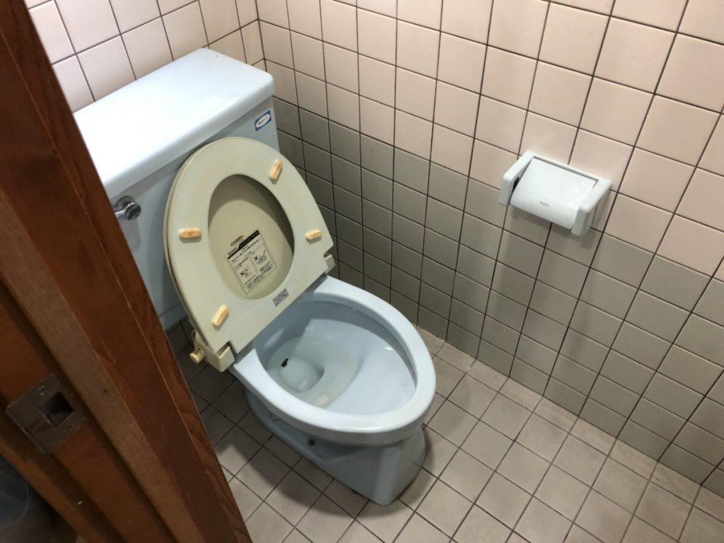 府中市広谷町でトイレ改修工事がスタートしました!