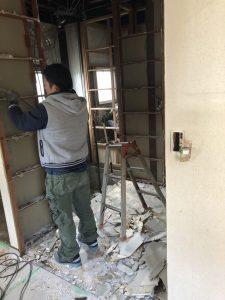 福山市明王台一階全面改修工事