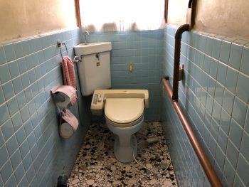 福山市本庄町にてトイレを交換致しました。