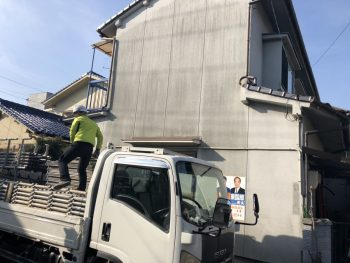 福山市春日町U様邸 外壁塗装工事