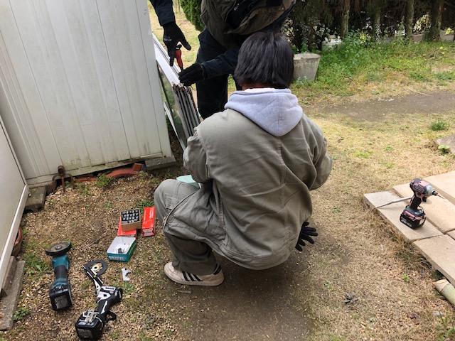 尾道市美ノ郷町T様邸 サッシコマ交換工事
