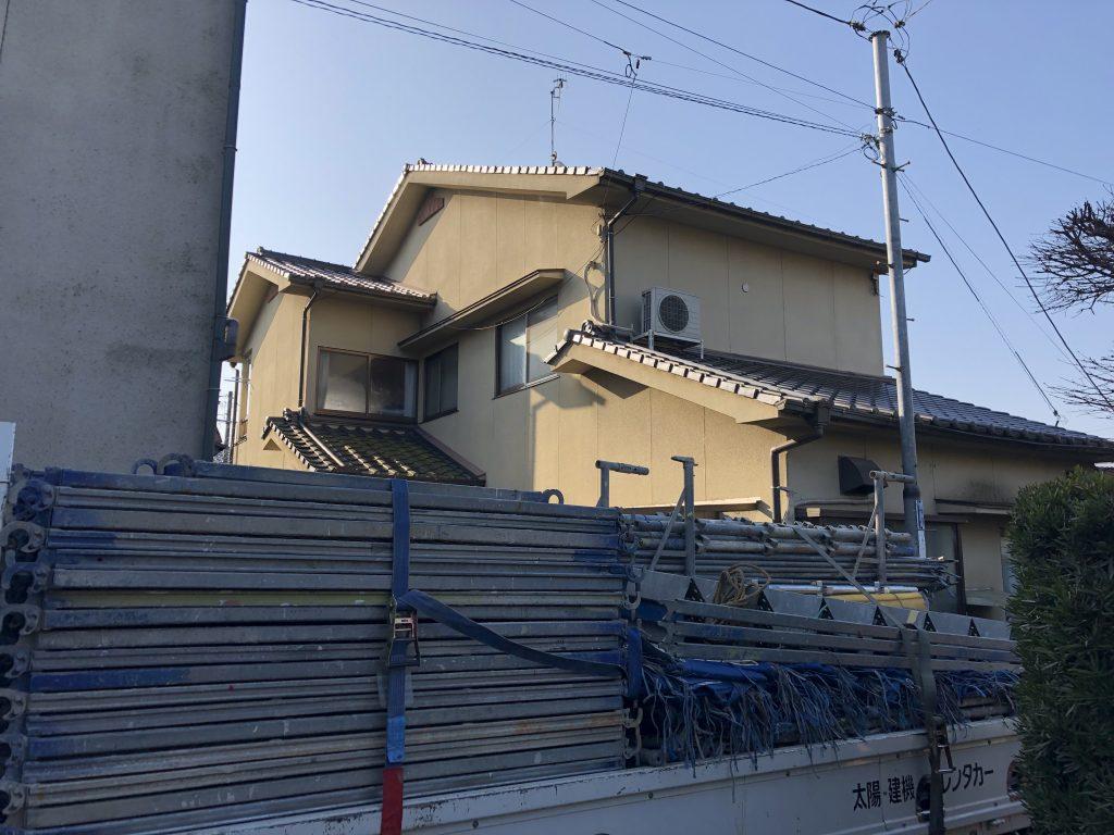 福山市本庄町M様邸外壁塗装工事