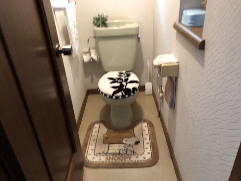 今回はトイレ工事のご紹介です。