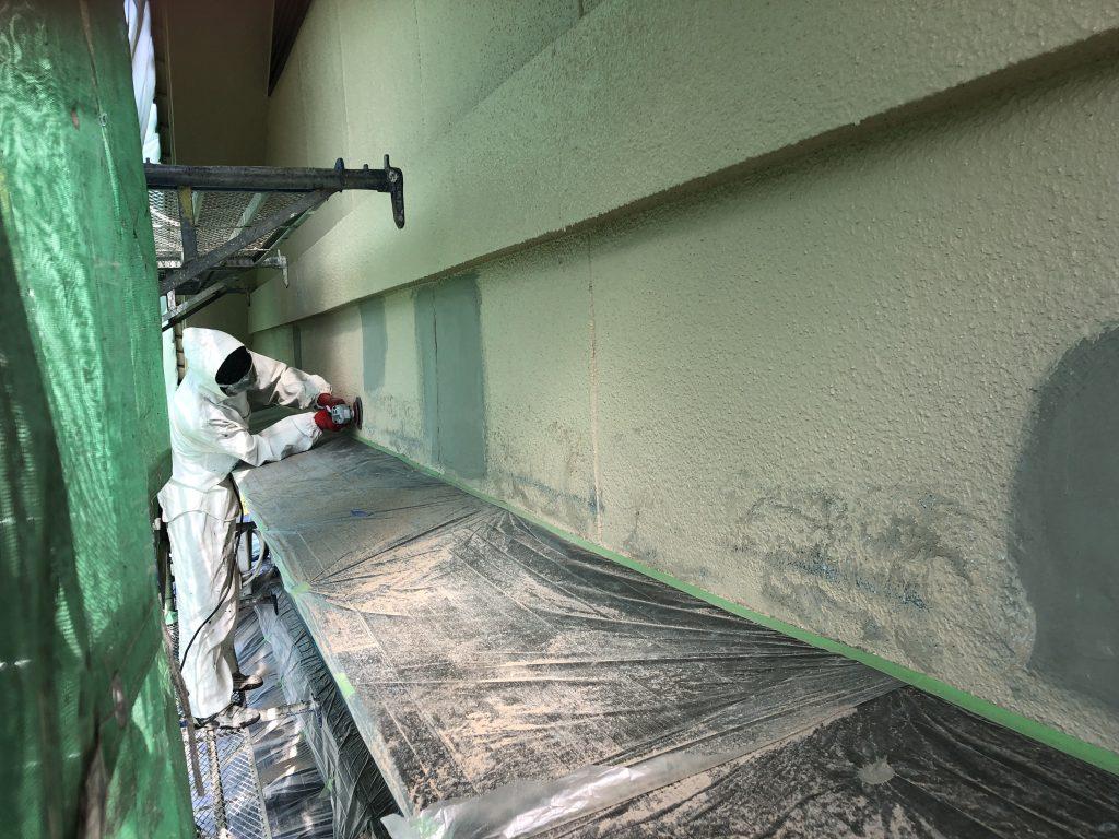 府中市土生町外壁塗装工事