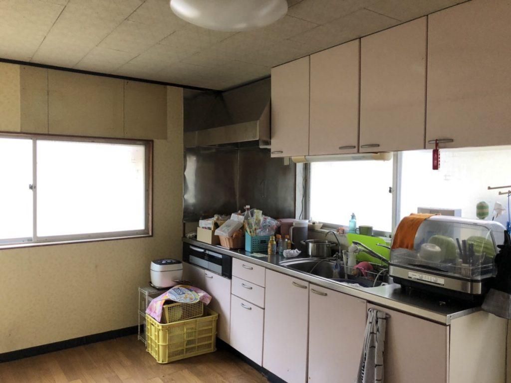 新市町キッチン改修工事