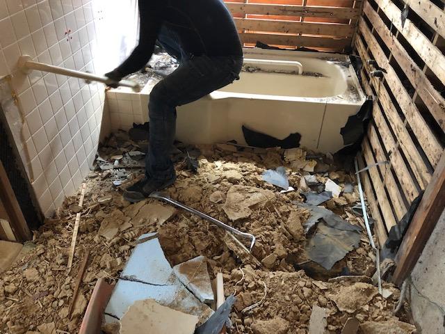 福山市西町I様邸 浴室改修工事