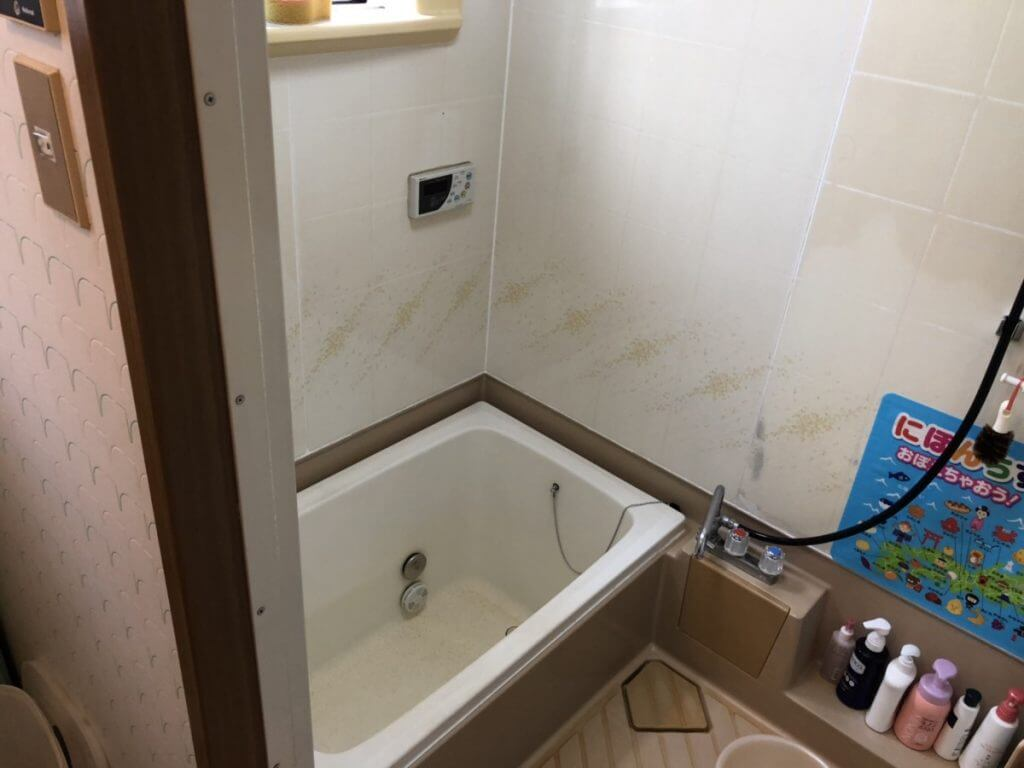 駅家町浴室改修工事完成致しました!