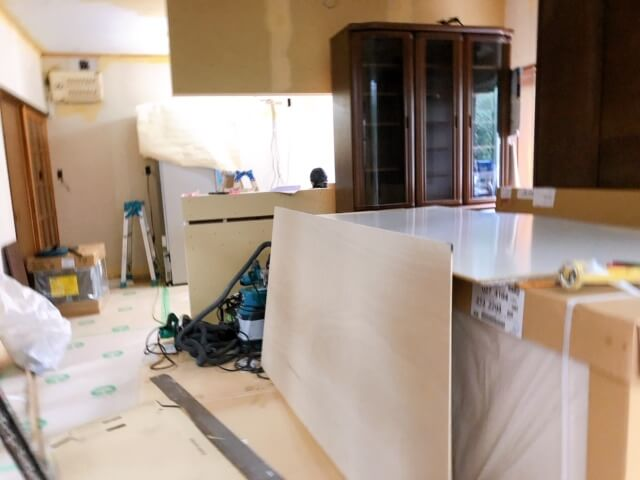 神辺町K様邸 キッチン改修工事
