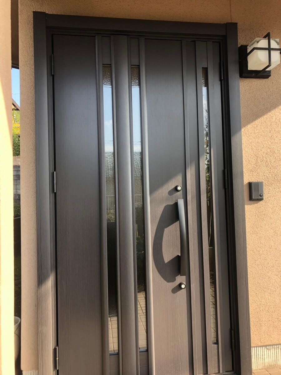 大谷台玄関ドア取替工事