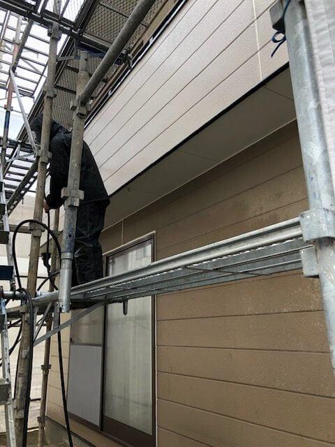 加茂にて屋根と外壁塗装工事