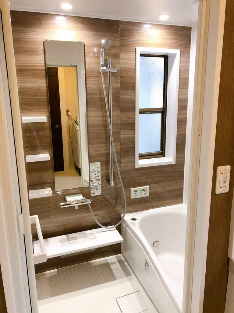 千田町浴室改修工事が完成致しました!