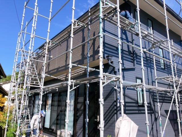 福山市加茂町K様邸 外壁塗装工事