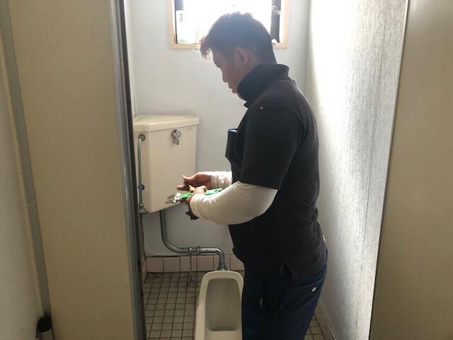 福山市曙町 Y様邸トイレ改修工事