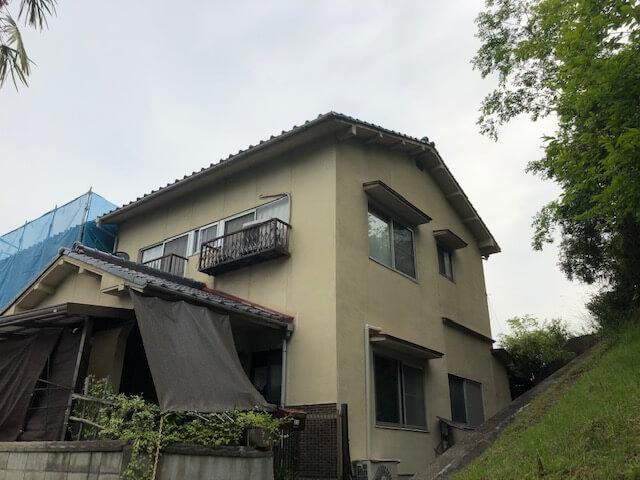 外壁塗装 in 尾道市長江 Ⅱ