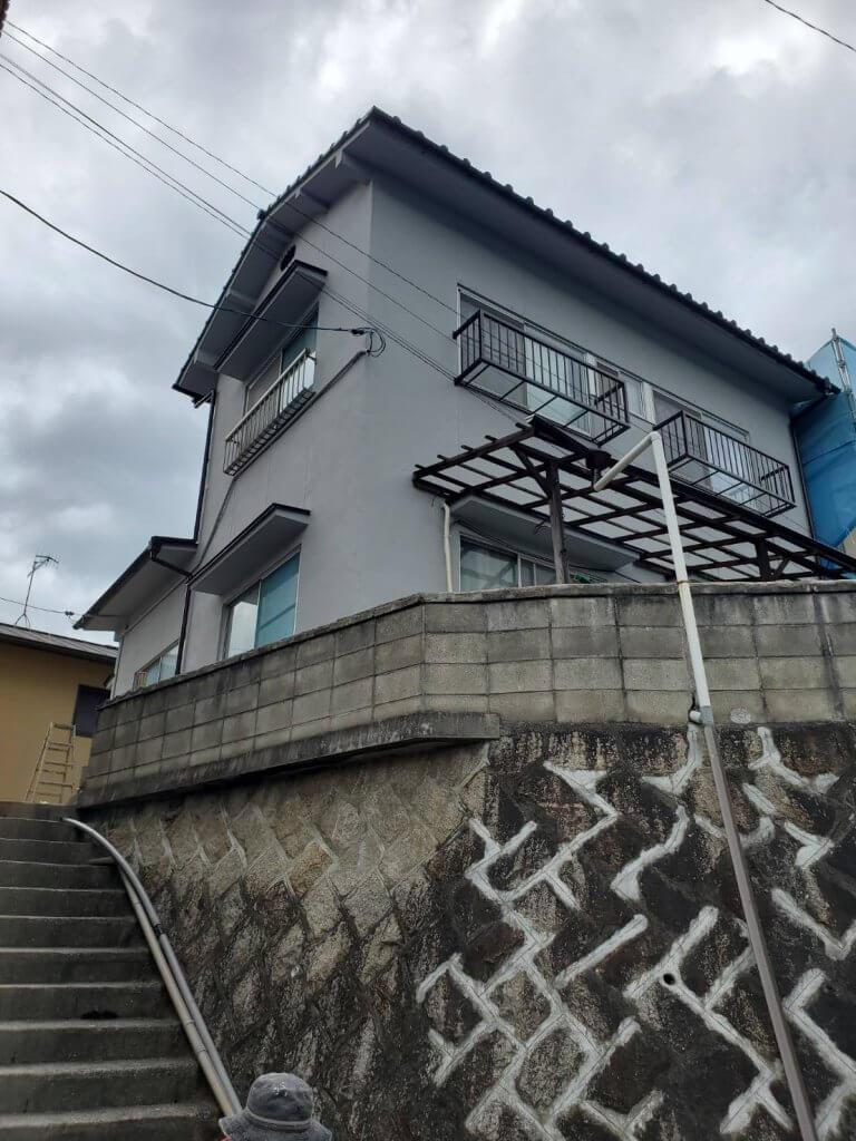 外壁塗装 in 尾道市長江