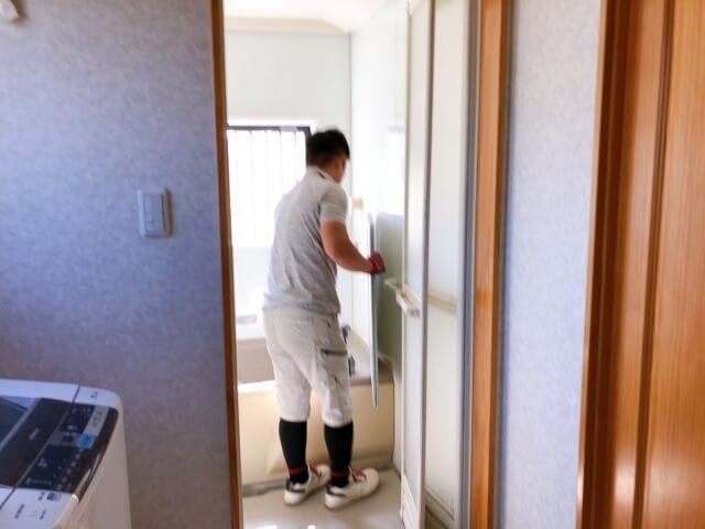 福山市加茂町A様邸 浴室改修工事