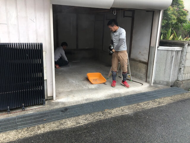 因島で水回り全面改装工事です。
