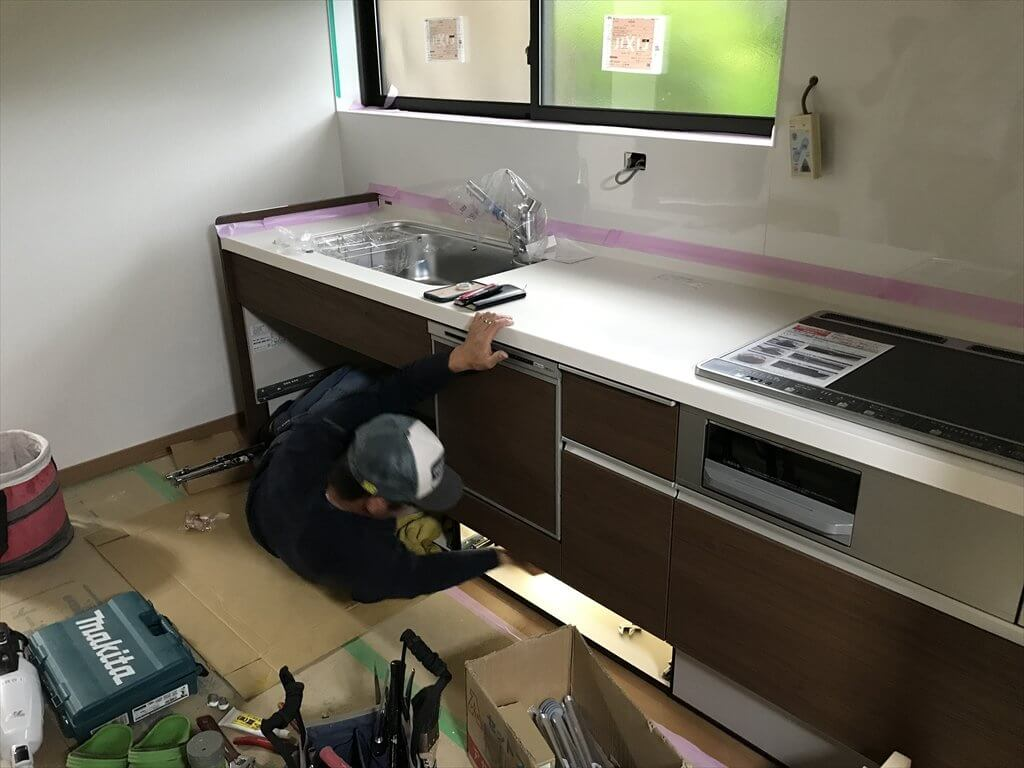 尾道市H様邸 リビング改修工事