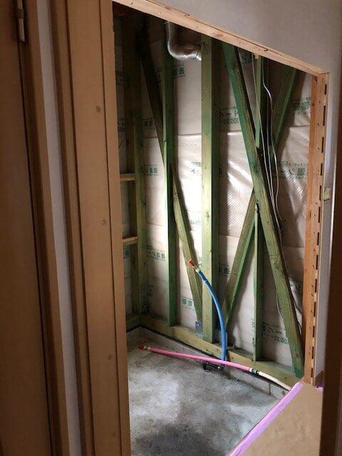 西新涯町G様邸 浴室改装工事