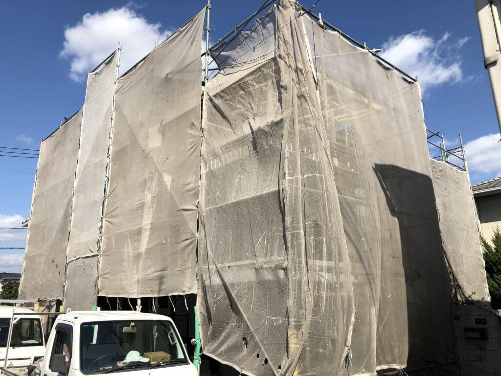 福山市柳津町T様邸 外壁塗装工事