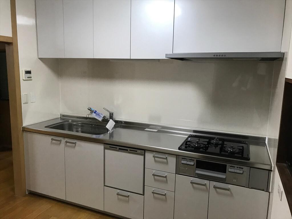 中古住宅購入でキッチン・トイレリフォーム